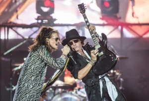 Le foto degli Aerosmith in concerto a Firenze Rocks