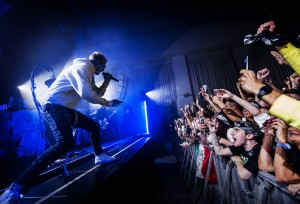 Le foto di Machine Gun Kelly in concerto a Roma