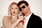 Robin Thicke, è record di download per Blurred Lines