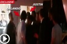 Il vero video del pugno di Orlando Bloom a Justin Bieber