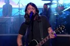I Foo Fighters per l'ultimo live da David Letterman. Guarda il video di Something From Nothing