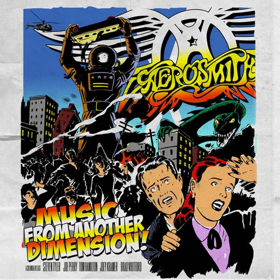 Recensione Aerosmith Music From Another Dimension