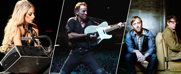 concerto Rolling Stones Springsteen Lady Gaga Black Keys New Jersey
