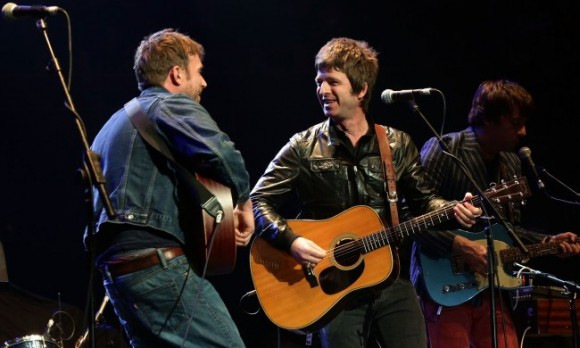 noel gallagher damon albarn