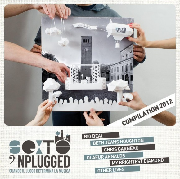 Vinci cd compilation Sexto'NPlugged 2012