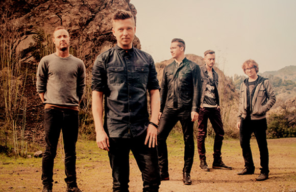 One Republic tour Italia 2014