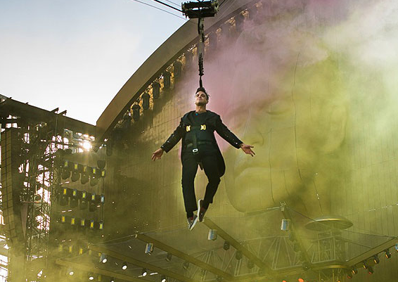 robbie williams tour 2013 scaletta