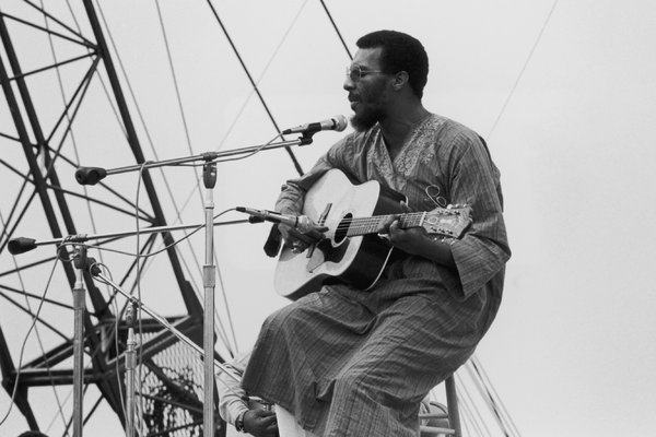 Richie Havens ceneri Woodstock
