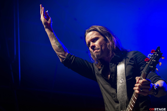 Alter Bridge Roma 11 novembre 2013 recensione