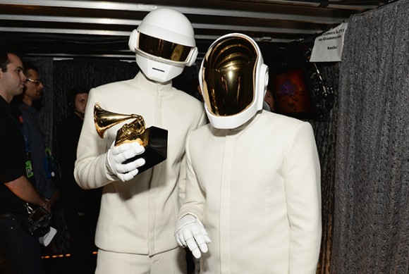 Daft Punk senza casco los angeles