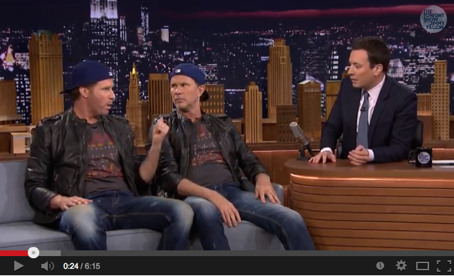 Chad Smith Will Farrell