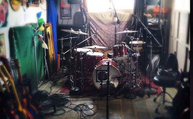 Foo Fighters studio foto