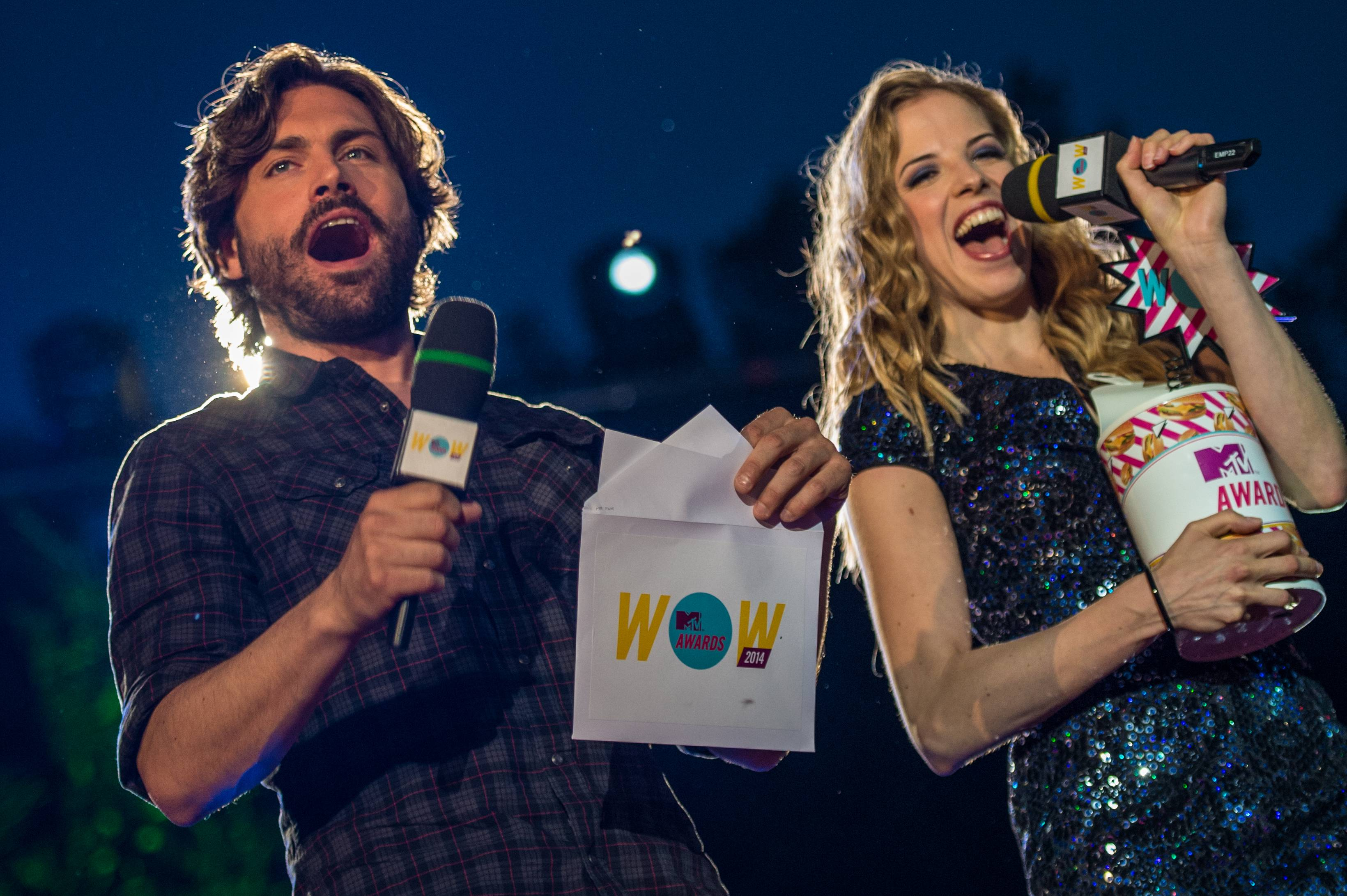 foto MTV awards 2014 Firenze 21 giugno