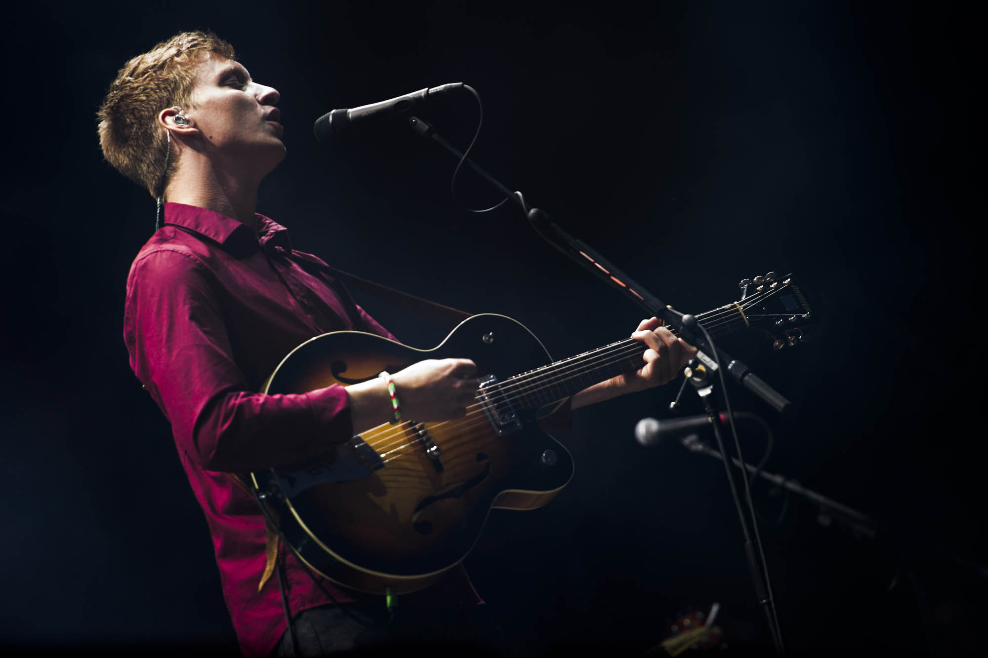 George Ezra performs in concert at Rock in Roma Festival