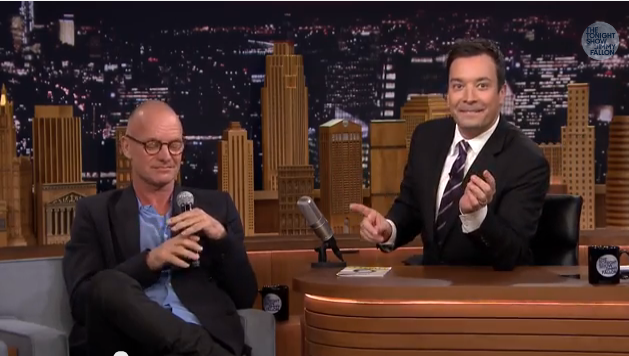 Sting Jimmy Fallon suonerie cellulari