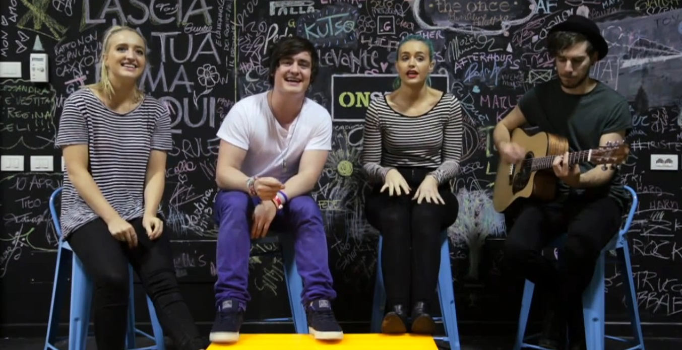 sheppard video live onstage