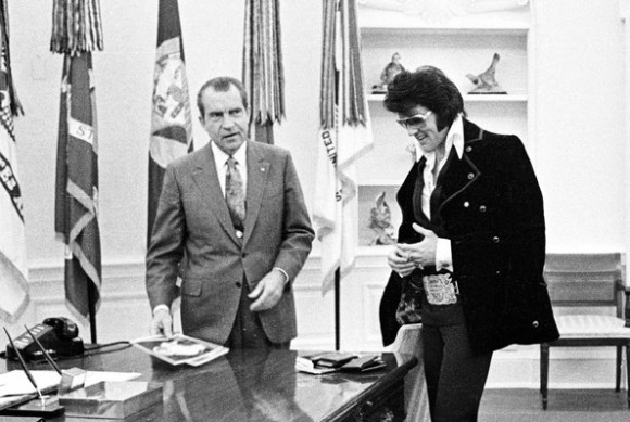 Elvis Presley Richard Nixon