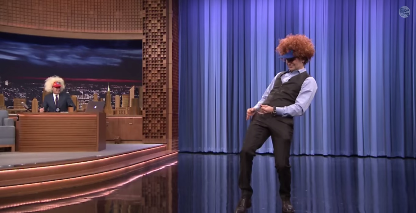 bradley cooper jimmy fallon air guitar neil young