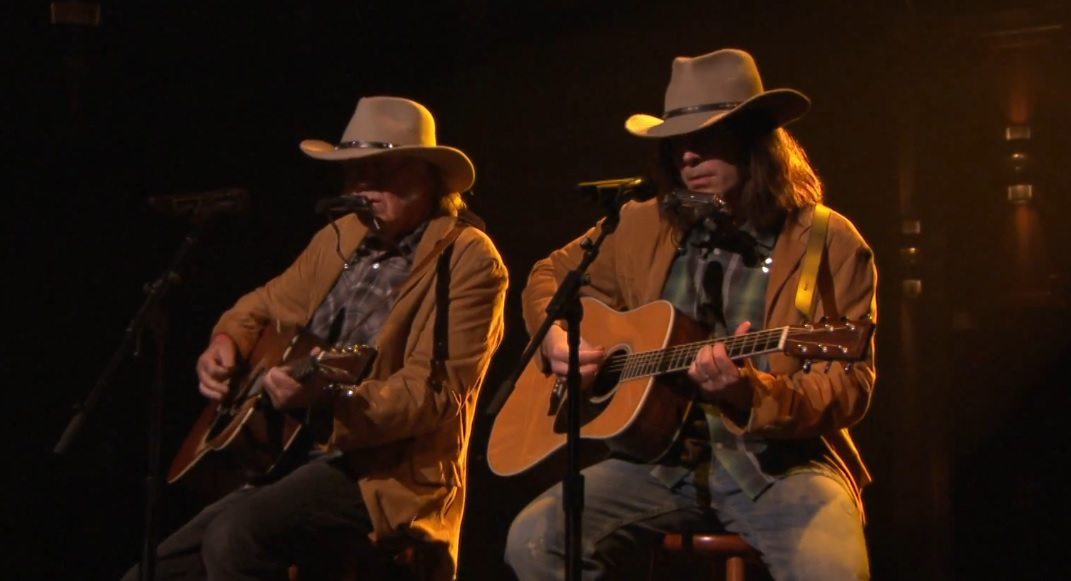 neil young jimmy fallon old man