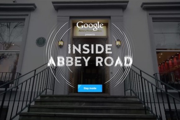 Abbey Road Studios tour virtuale Google