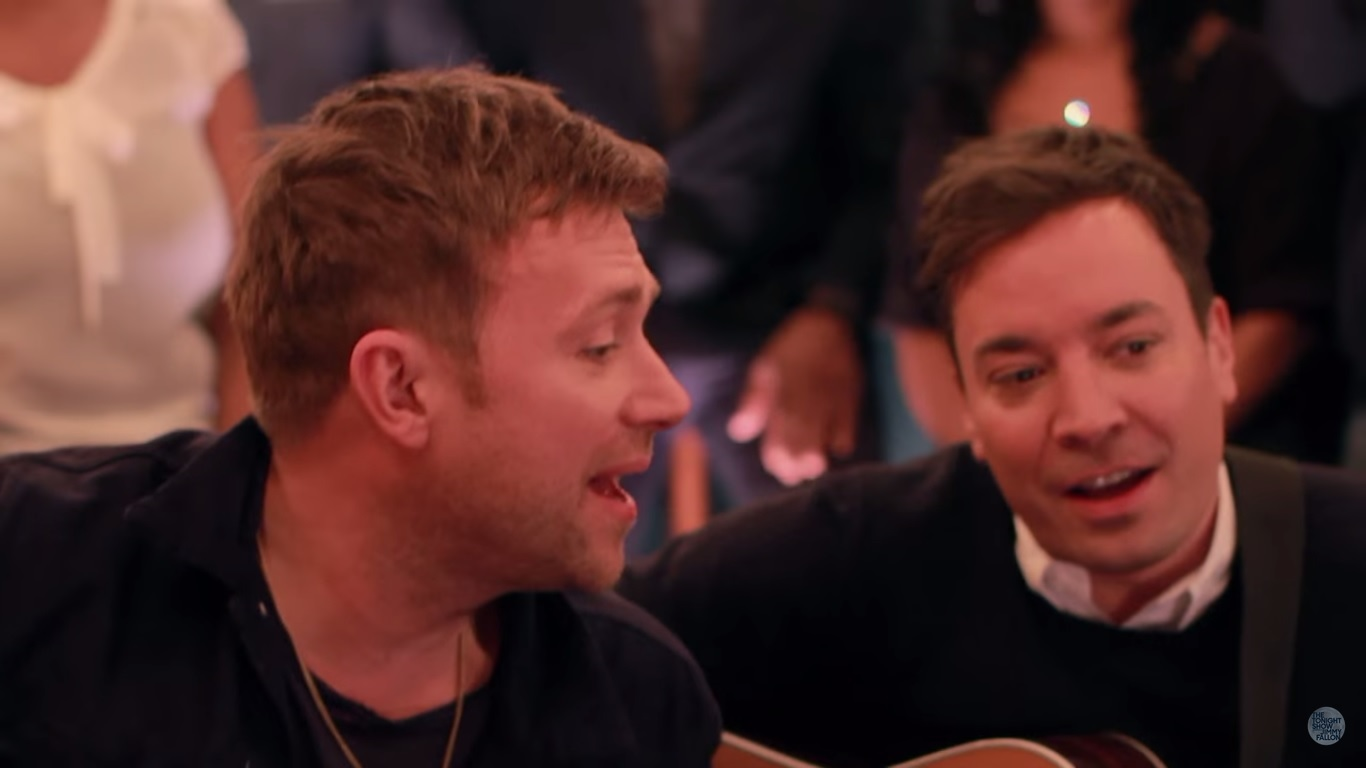 blur tender acustica jimmy fallon