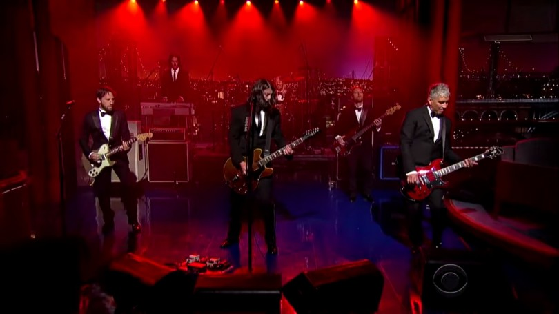 foo fighters everlong david letterman
