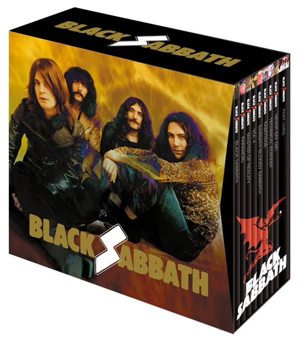 Cofanetto Black Sabbath