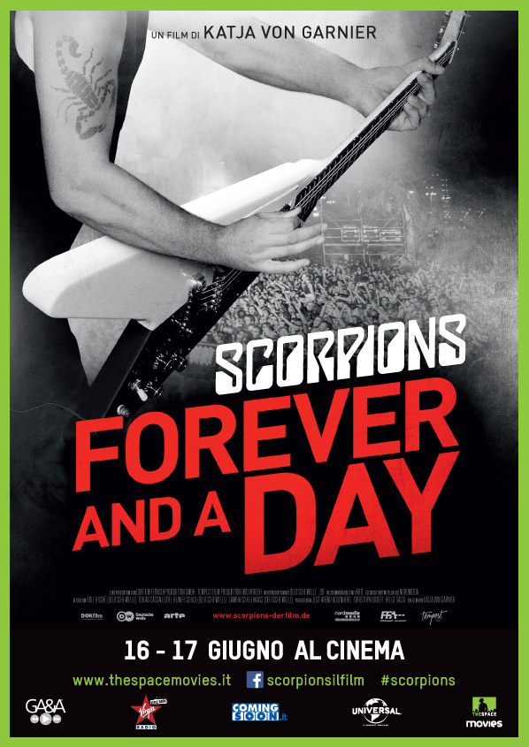 Scorpions film cinema Forever and a Day