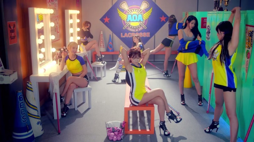 aoa heart attack k pop