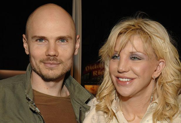 Billy Corgan Courtney Love Kurt Cobain