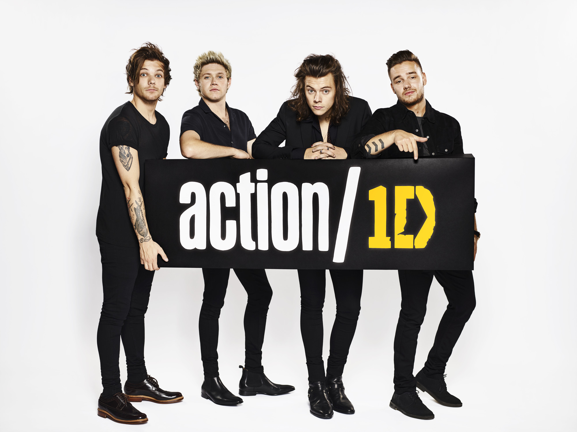 One Direction supportano Action 1D