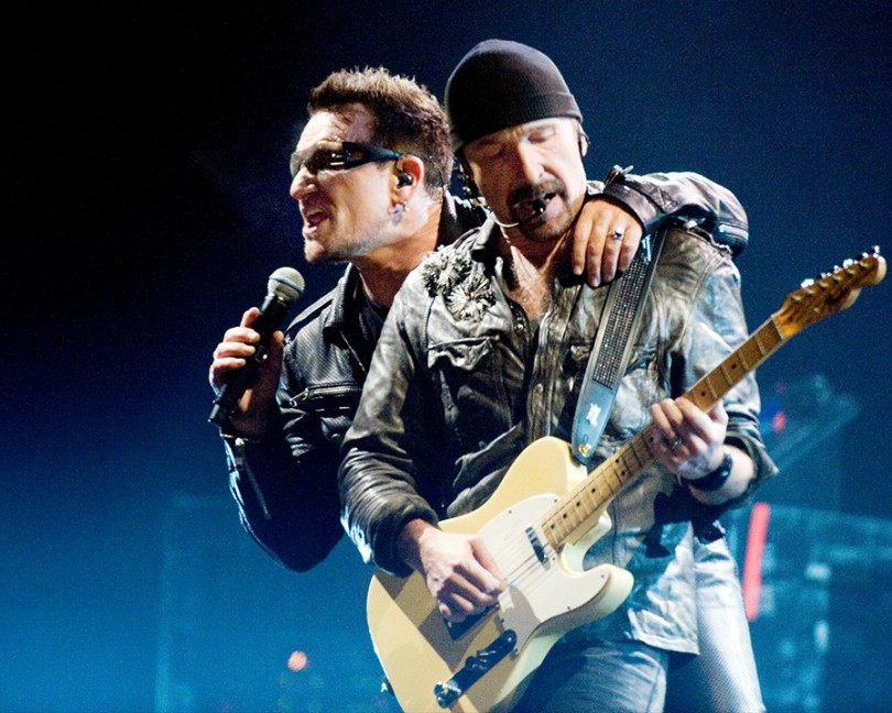 U2 The Crystal Ballroom dal vivo chicago