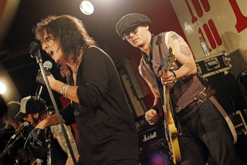 Johnny Depp Alice Cooper Joe Perry Hollywood Vampire