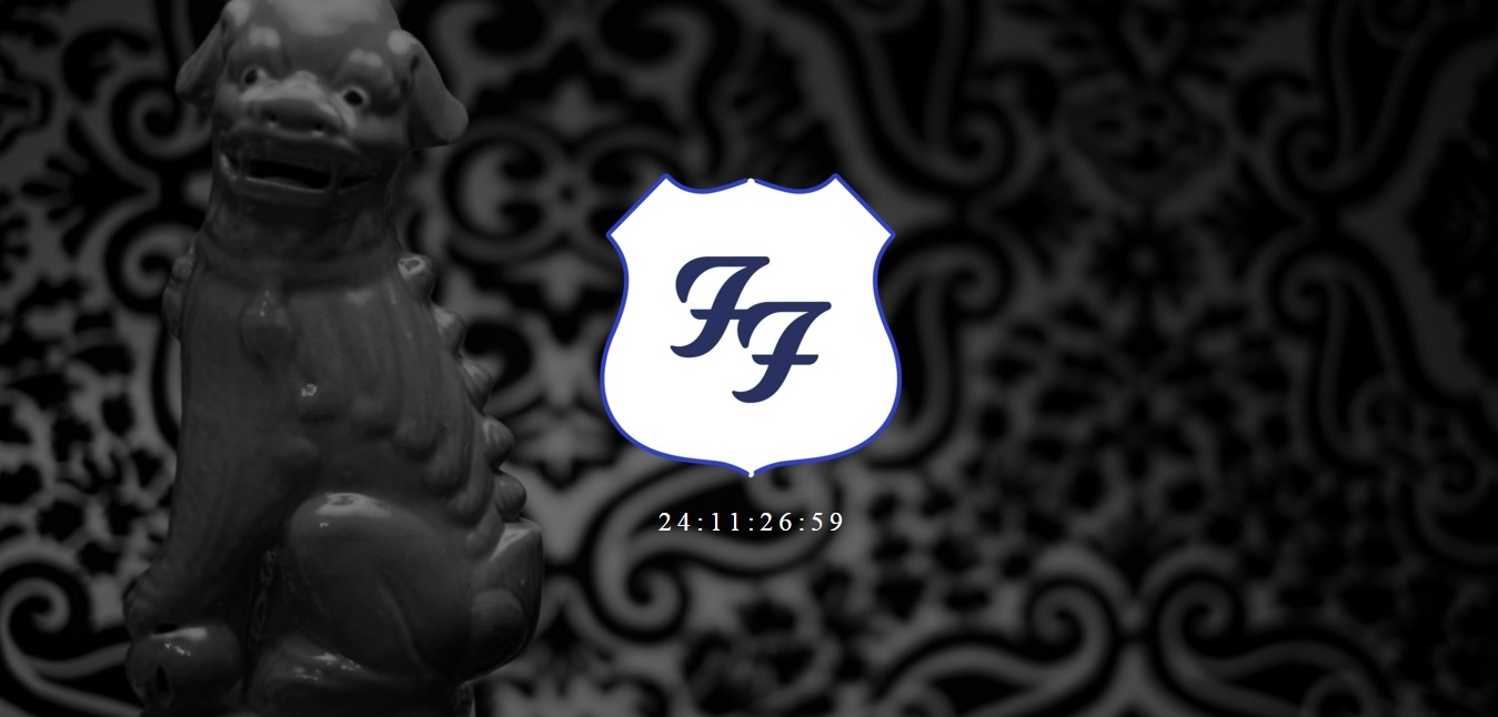 Foo Fighters countdown misterioso