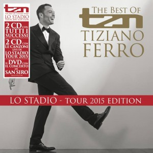 Tiziano Ferro best of lo stadio tour 2015 dvd