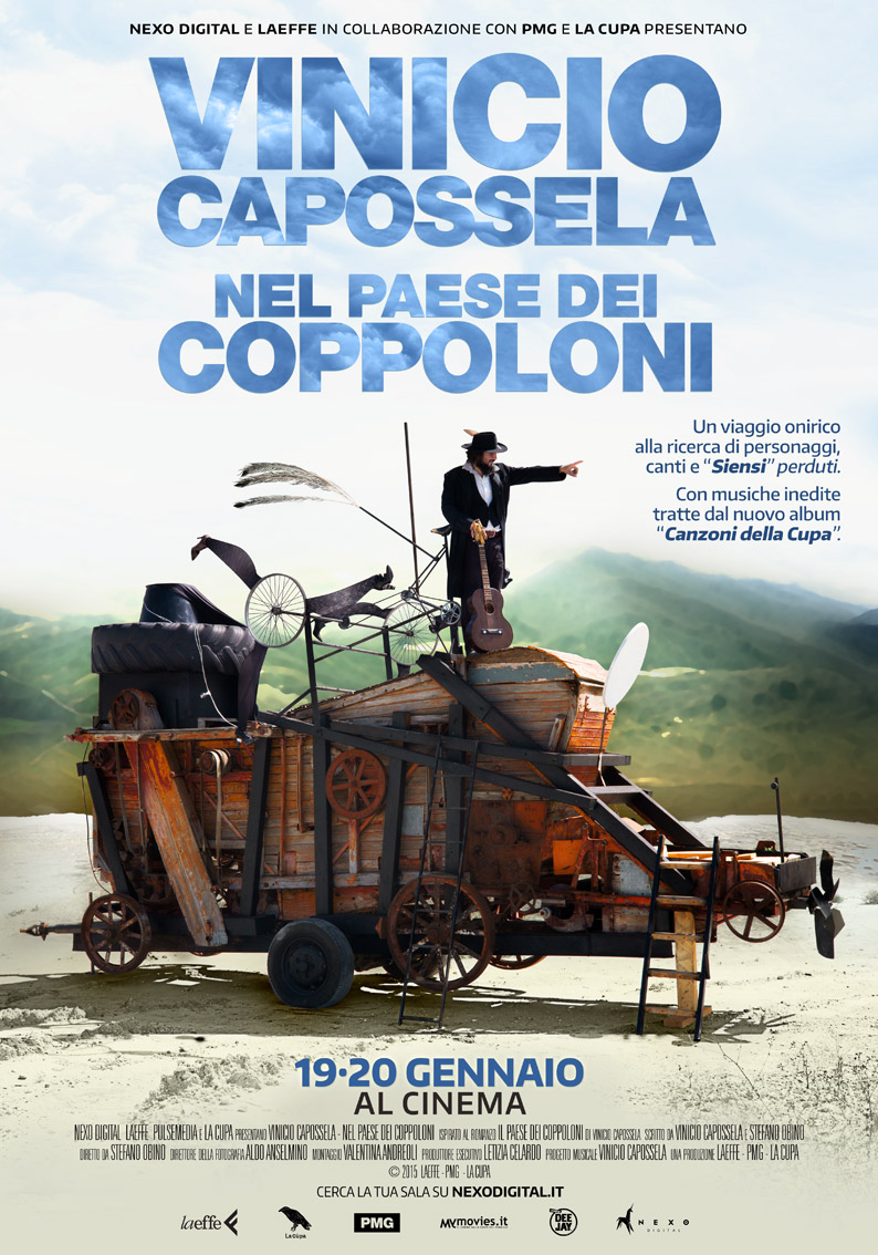 Vinicio Capossela film cinema paese coppoloni