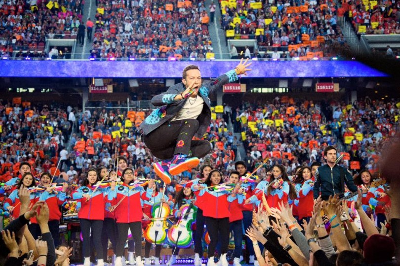 Coldplay tour 2016 scaletta